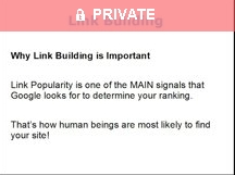 Link Building Part 1